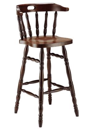 High Quality Tall Captains Bar Chair from Trent Furniture | Pub Chair