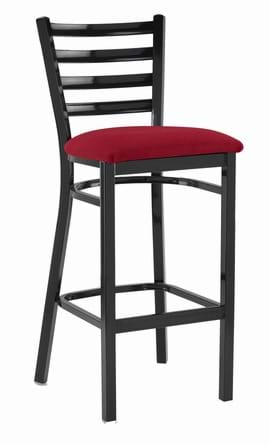 Tall Black Washington Stool from Trent Furniture | Café Furniture
