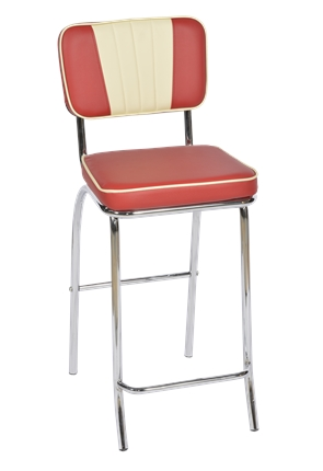 High Quality Tall American Diner Stool | American Diner Chair