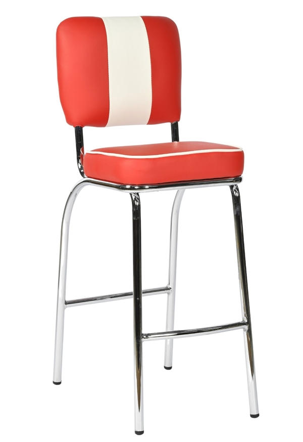Tall american diner stool bar stools by trent furniture American classic furniture company