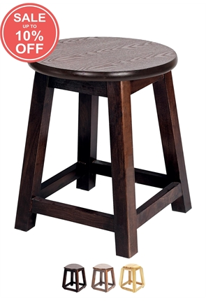 BS/5H   Small Shaker Stool Hard Top