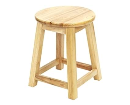 Small Shaker Stool Hard Top