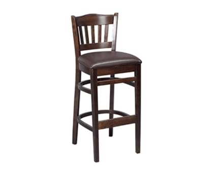 Tall Boston Bar Stool Upholstered