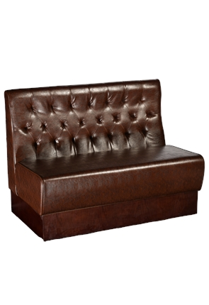 High Quality Berwick Buttoned Back Pub Bench from Trent Furniture