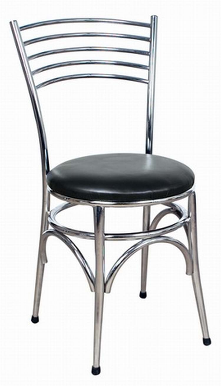 Napoli Chrome Side Chair Amp Dining Chairs By Trent Furniture