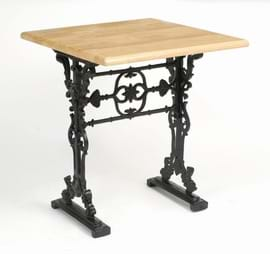 High Quality Square Bar Cast Iron Table Decorative Centre from Trent Furniture