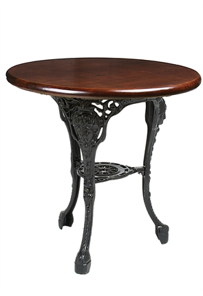High Quality Wide Girlshead Cast Iron Table from Trent Furniture