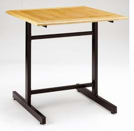 High Quality Square I-Frame Cast Iron Table from Trent Furniture