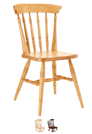 High Quality Farmhouse Spindleback Chair from Trent Furniture | Restaurant Chair