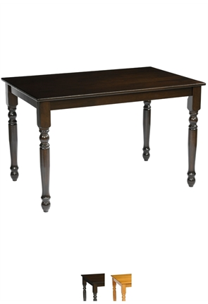 High Quality Rectangular Farmhouse Table from Trent Furniture | Pub Table