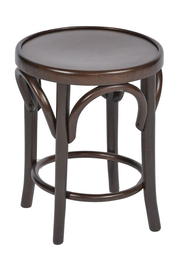 Small Table And Stools: Small Bentwood Stool & Bar Stools By Trent Furniture