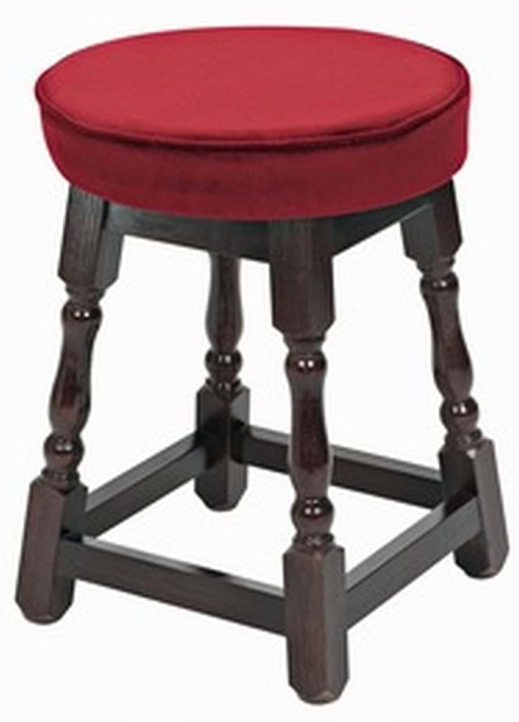 Wooden Furniture Stools ~ Small piped top wooden stool pub chairs by trent furniture