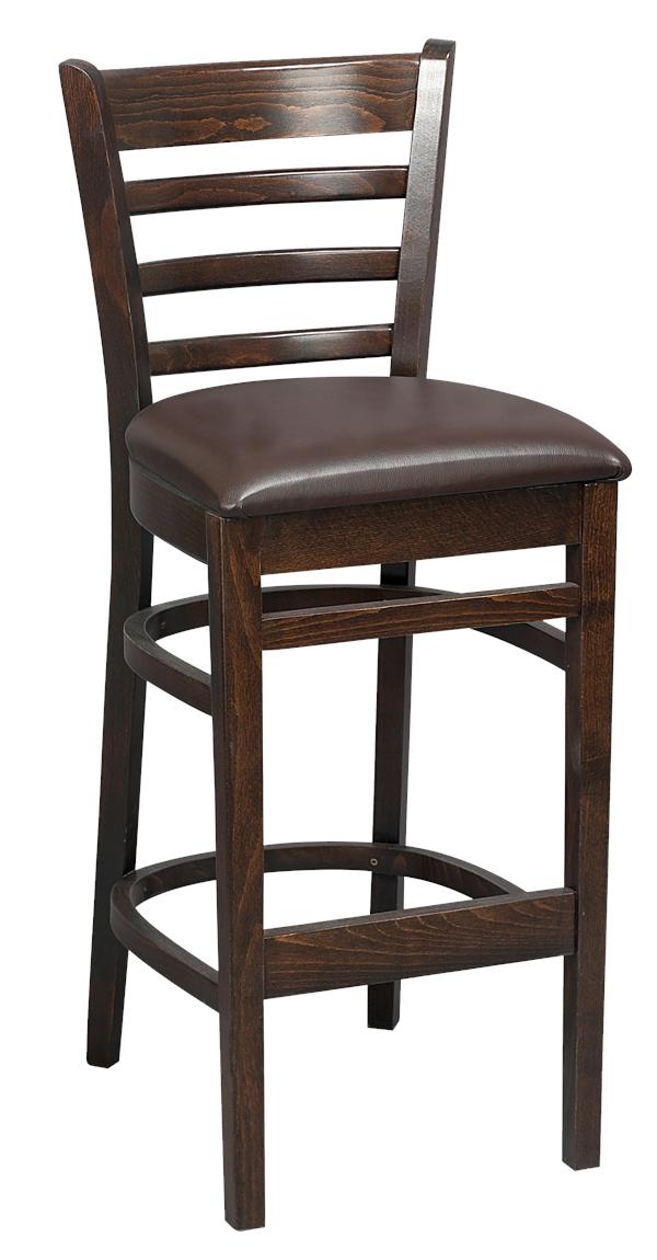 Tall Washington Bar Stool Upholstered Trent Furniture : BS8UDarkOakfinishzoom from www.trentfurniture.co.uk size 750 x 1444 jpeg 48kB
