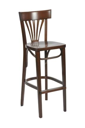 High Quality Tall Fanback Side Chair from Trent Furniture | Pub Chair