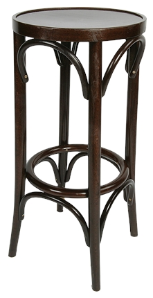 High Quality Tall Bentwood Stool from Trent Furniture | Pub Chair