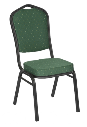 High Quality Richmond Black Framed Stacking Banquet Chair from Trent Furniture