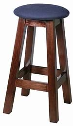 High Quality Tall Button Top Shaker Stool from Trent Furniture | Pub Chair