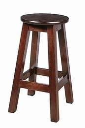 High Quality Tall Hard Top Shaker Stool from Trent Furniture | Pub Chair