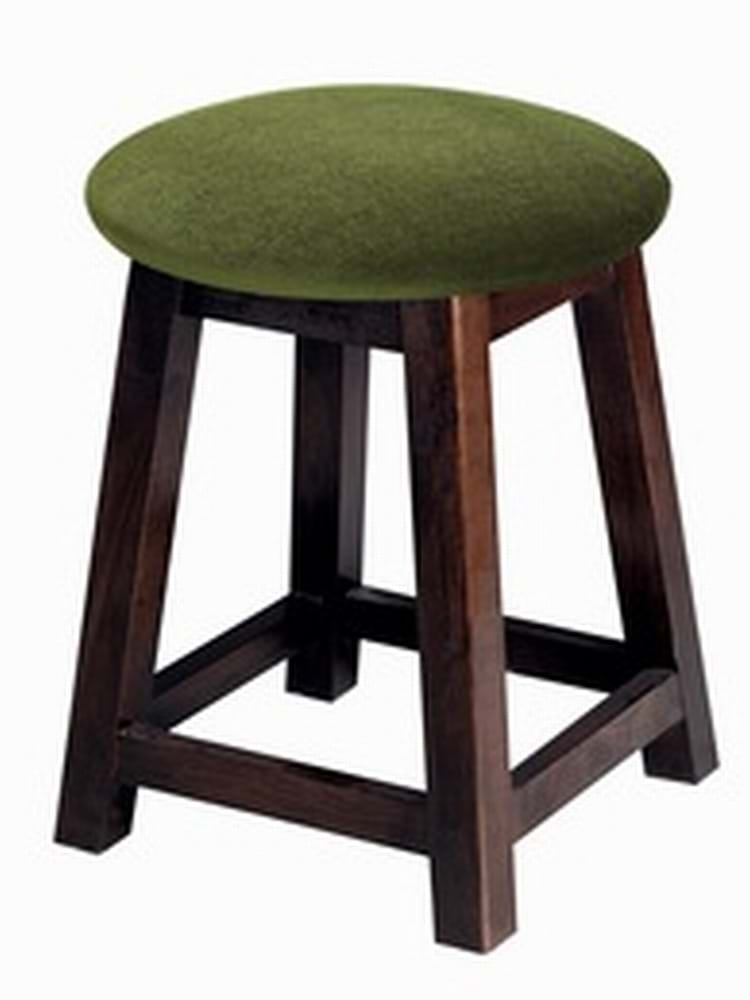 Small Button Top Shaker Stool Amp Pub Chairs By Trent Furniture