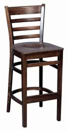 High Quality Tall Washington Bar Stool from Trent Furniture | Pub Chair