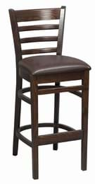 High Quality Tall Washington Bar Stool Upholstered from Trent Furniture | Pub Chair