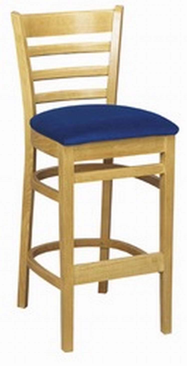 Tall Washington Bar Stool Upholstered Trent Furniture