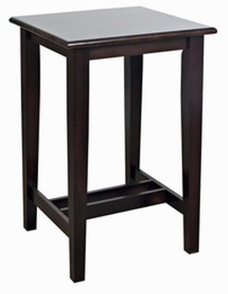 Square Shaker Poseur Table Amp Bar Furniture By Trent Furniture