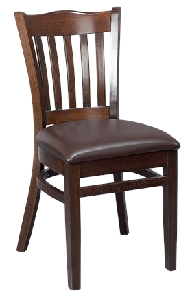 High Quality Boston Side Chair Upholstered from Trent Furniture | Restaurant Chair