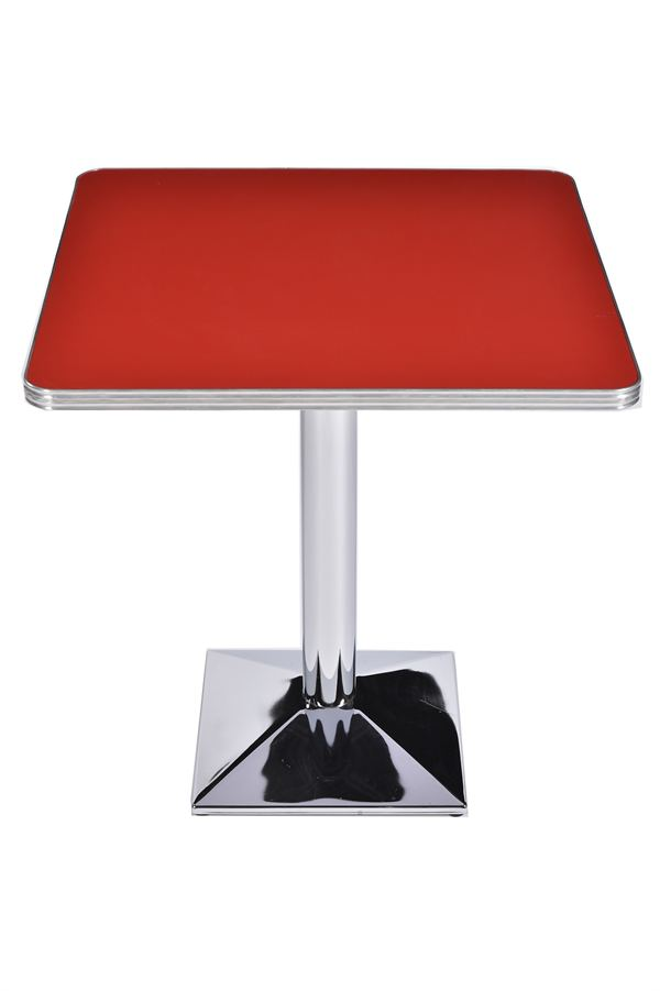 Products chrome pyramid american diner table 605 trent for Solidworks design table zoom