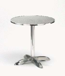 Alma Round Aluminium Table