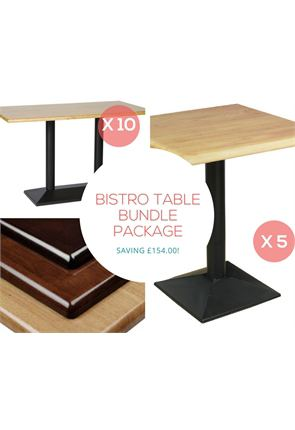 Bistro Table Bundle of 15x Tables from Trent Furniture | Café Furniture