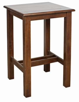 High Quality Square Shaker Poseur Table from Trent Furniture