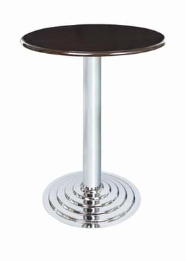 Chrome Ridge Table from Trent Furniture | Café & Restaurant Furniture