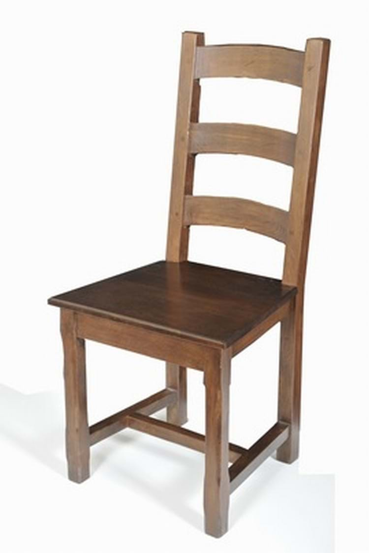 Solid oak rustic country restaurant chair trent furniture