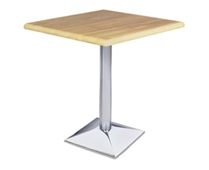 Chrome Pyramid Table