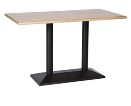 Rectangular Black Pyramid Table