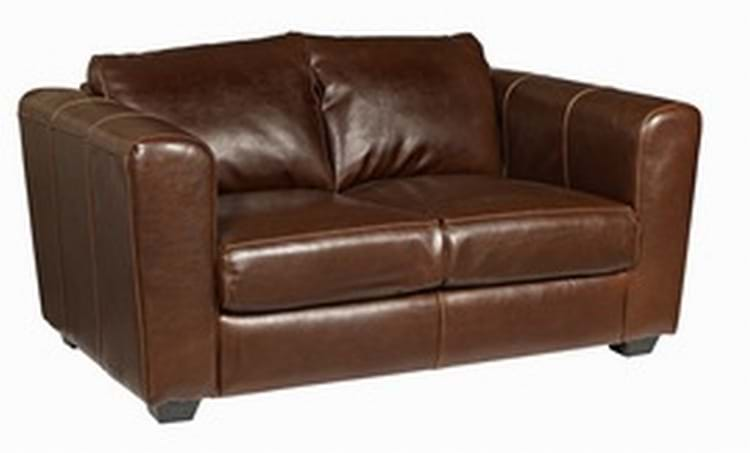 Manhattan 2 Seater Restaurant Leather Sofa Trent Furniture