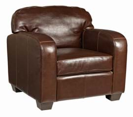 High Quality Madison Leather Armchair From Trent Furniture.